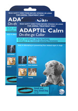 Adaptil Calming Collar for Small and Very Small Dogs - 2 Pack