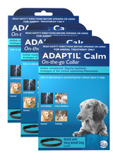 Adaptil Calming Collar for Small and Very Small Dogs - 3 Pack