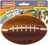 Nylabone Power Play Dog Football Gripz 14cm