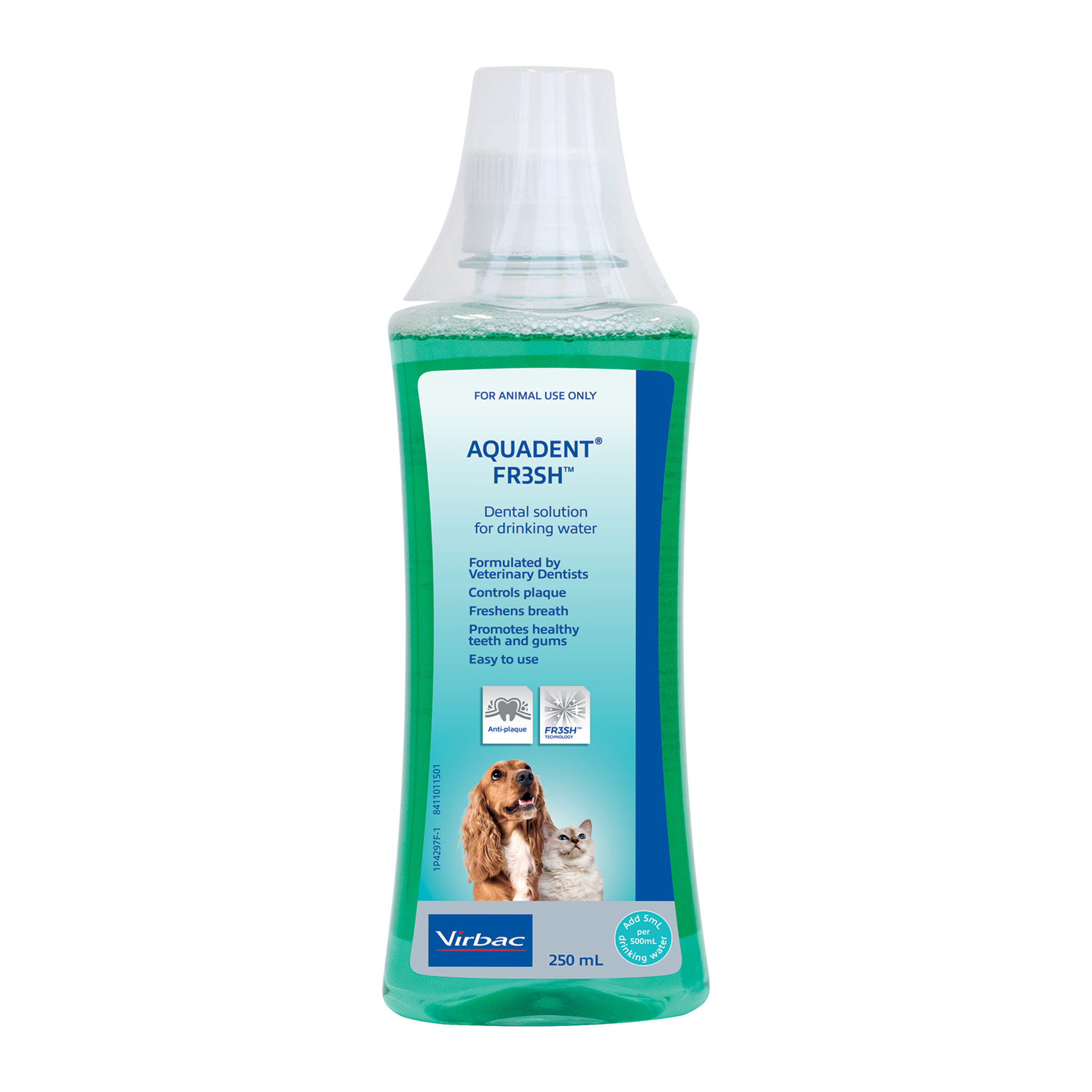 Aquadent Fresh Dental Water Additive for Dogs and Cats - 250 mL