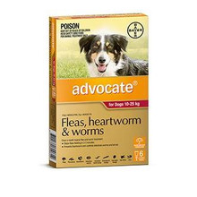 Advocate for Dogs 10-25 kg - 6 Pack