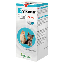 Zylkene Nutritional Supplement For Dogs and Cats 75mg - 30 Capsules