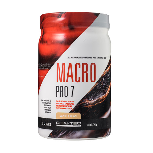 Macro Pro 7 Advanced Protein Blend Vanilla