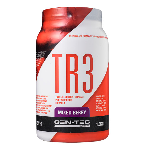 TR3 Post Workout Recovery Mixed Berry 1.6kg