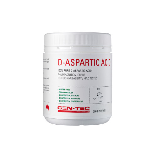 Pure D-Aspartic Acid (Vegan) 100g
