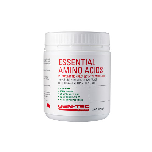 Pure Essential Amino Acids (Vegan) 200g / 500g