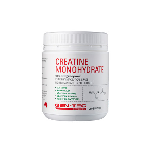 Pure Creatine Monohydrate (Vegan)