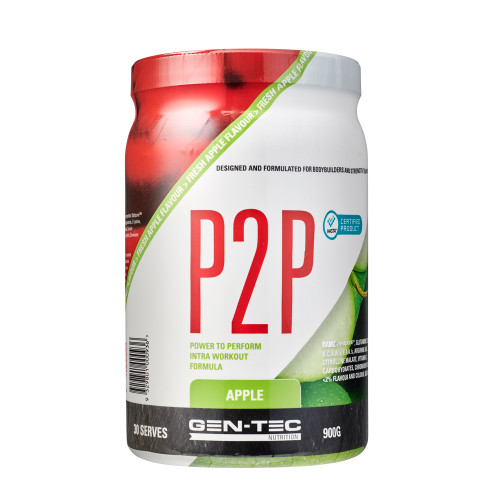 P2P INTRA WORKOUT APPLE (VEGAN)