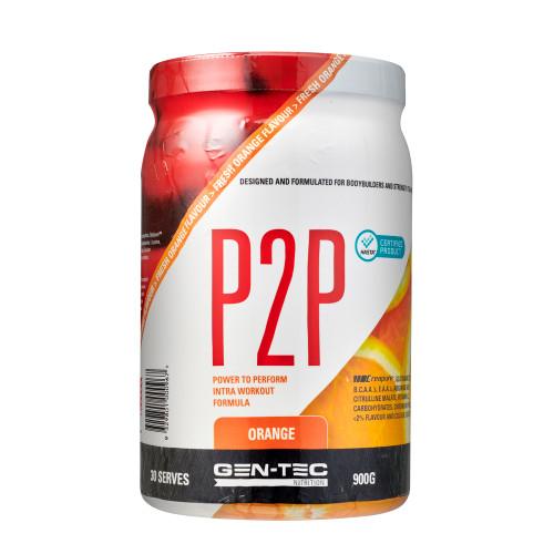 P2P Advanced Intra Workout Formula Orange (Vegan) 900g