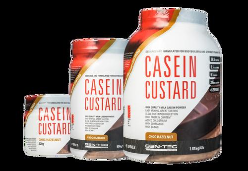 Casein Custard Protein Choc Hazelnut