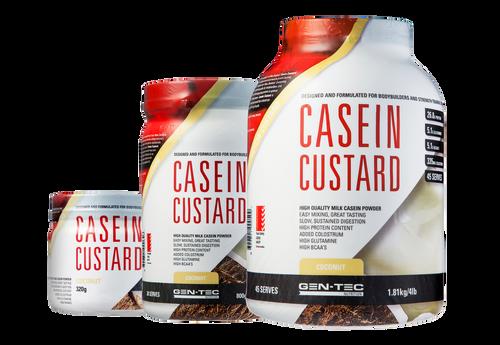 Casein Custard Protein Coconut Cream