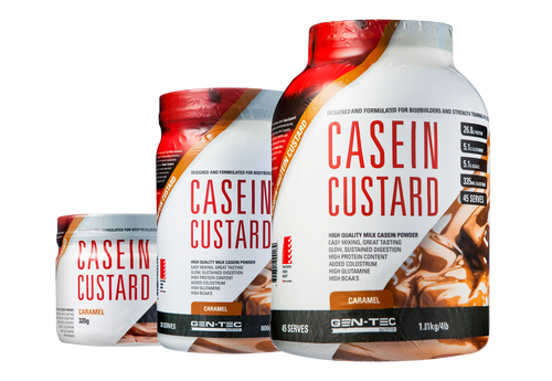 CASEIN CUSTARD CARAMEL
