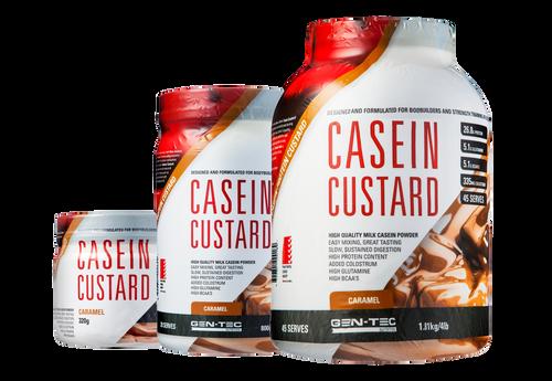 Casein Custard Protein Caramel