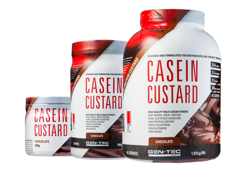 Casein Custard Protein Chocolate