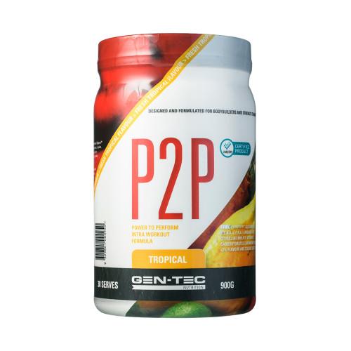 P2P Advanced Intra Workout Formula Tropical (Vegan) 900g