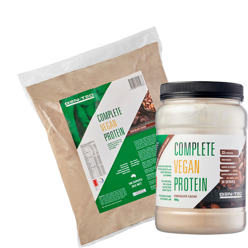 COMPLETE VEGAN PROTEIN - CHOCOLATE CACAO