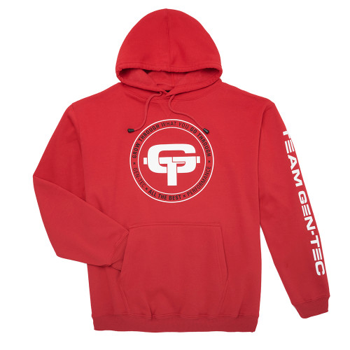 GT OVERSIZED HOODIE - RED