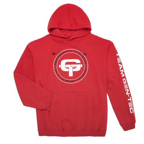 GEN-TEC Red Oversized Hoodie