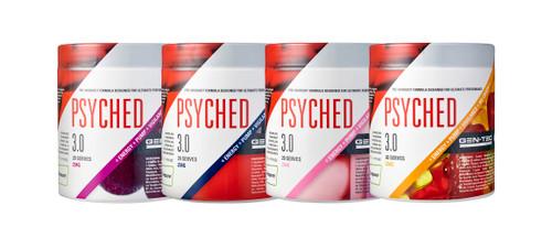PSYCHED 3.0 / GRAPE / CRAZY AMERICAN / PINK BUBBLEGUM / SOUR GUMMY