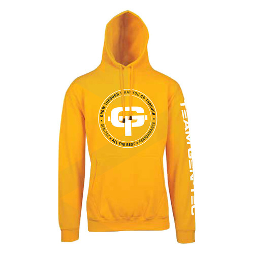 GEN-TEC Yellow Oversized Hoodie (Limited Edition)
