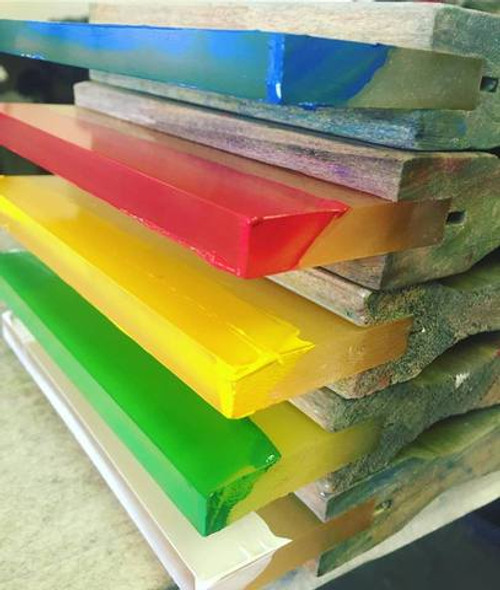 Nortech Squeegees - Wooden Coated and Bolted