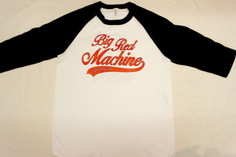 MENS BIG RED MACHINE  BASEBALL TEE