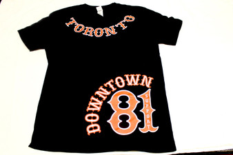 TORONTO BLACK & RED T-SHIRT