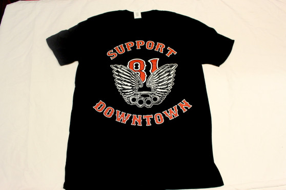 BRASSKNUCKEL AND WINGS T-SHIRT