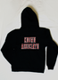 Support Downtown Known Associate hoodie - blk/red