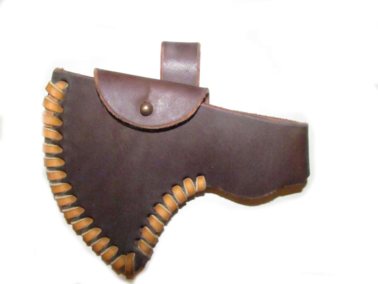 H & B Forge French Polled Lady Full Cover Belt Sheath