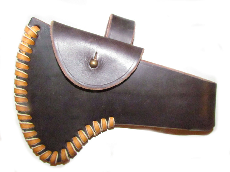 H & B Forge Large French Polled Full Cover Belt Sheath