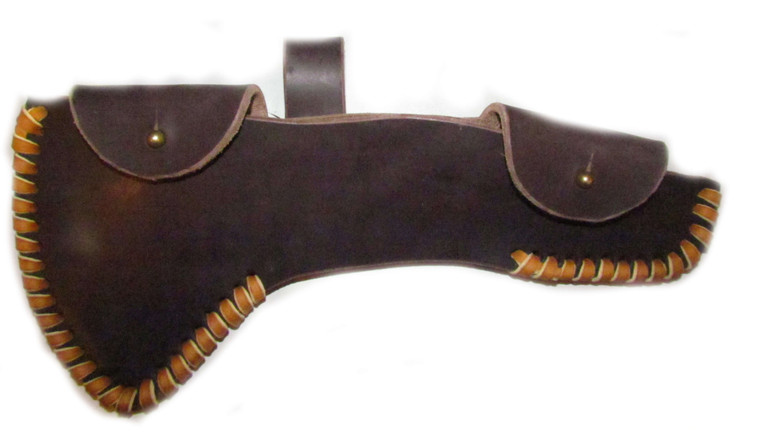H & B Forge Small Curved Spiked Hawk Sheath