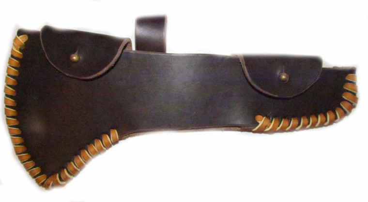 H & B Forge Large Straight Spike Full Cover Belt Sheaths