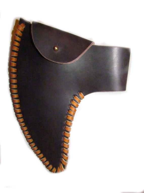 H & B Forge Pointed Bearded Full Cover Belt Sheath