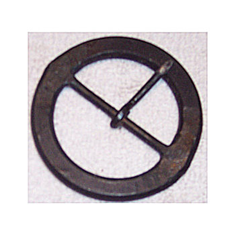 """H & B Forge 2 and 2 1/2"""" Round Hand Forged  Buckle"""