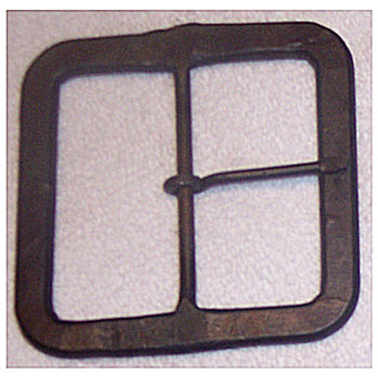"""H & B Forge 3"""" Square Hand Forged Buckle"""