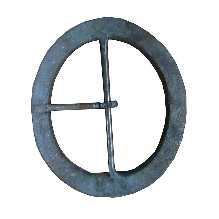 "H & B Forge 2 1/2"" Oval  Hand Forged Buckle"