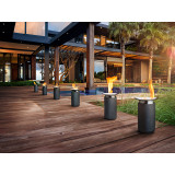 Luna Outdoor Gel-burning Firepit