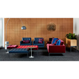 Florence Knoll Relaxed Three Seat Bench by Knoll