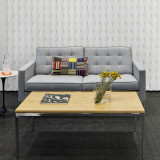 Florence Knoll Relaxed Settee by Knoll