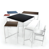 "Richard Schultz 1966, 28"" x 28"" Outdoor Table by Knoll"