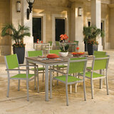 "Travira 7-Piece Dining Set 63"" Dining Table by Oxford Garden"