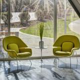 Medium Womb Chair by Knoll