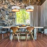 Saarinen Executive Armchair, Wood Legs by Knoll