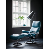Stressless Aura Chair Large with Signature Base by Ekornes