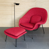 Womb Chair and Ottoman by Knoll