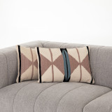 Rust Patterned Pillow, Set Of 2