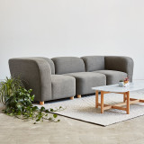 Circuit Modular 3-Piece Sofa by Gus Modern