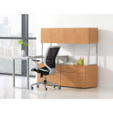 Voi Low Credenza, 2 File 2 Box by HON