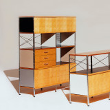 Eames Storage Unit by Herman Miller, 4 x 2
